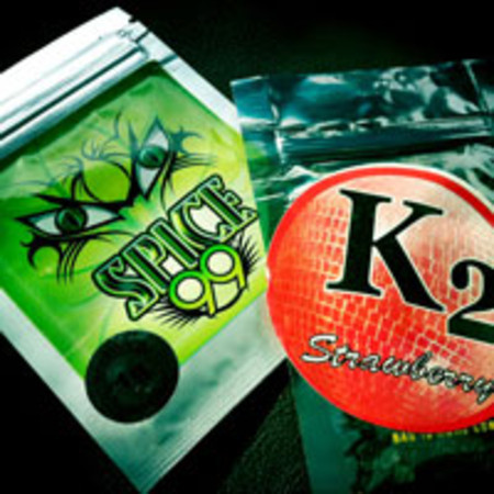 K2 incense and Spice 99 Packets