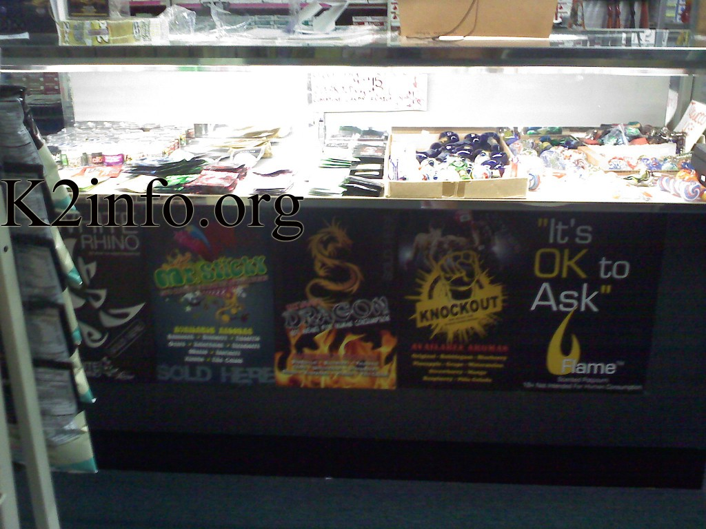 K2 Incense , Synthetic Marijuana Posters, Paraphernalia